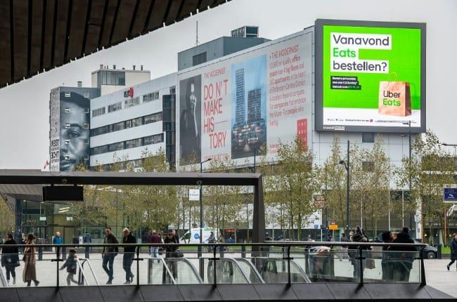 Onze-Kapel-Uber Eats_Campagne_Rotterdam